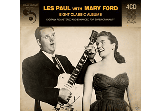 Les Paul, Mary Ford - 8 Classic Albums - (CD)