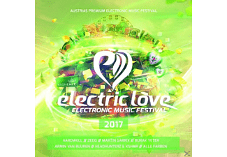 VARIOUS - Electric Love 2017 - (CD)