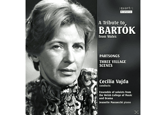 Cecilia Vajda - A Tribute To Bartok From Wales - (CD)