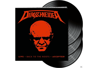 Dirkschneider - Live-Back To The Roots-Accepted! (Black 3LP) - (Vinyl)