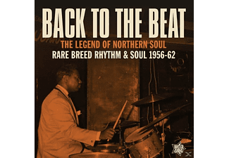 VARIOUS - Back To The Beat/Rare Breed Rhythm & Soul 1956-62 - (Vinyl)