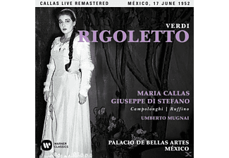 Maria Callas, Orquesta Y Coro Del Palacio De Bellas Artes México, Various Artists - Rigoletto (Mexico,live 17/06/1952 - (CD)