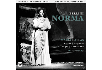 Maria Callas, Various Artists, Orchestra And Chorus Of the Royal Opera House Covent Garden - Norma (London,live 18/11/1952 - (CD)