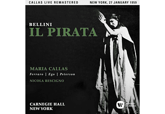 Maria Callas, Orchestra And Chorus Of The American Opera Society, Various Artists - Il pirata (New York,live 27/01/1959 - (CD)