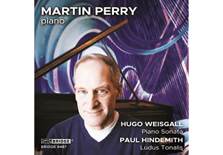Martin Perry - Music Of Weisgall And Hindemith - (CD)