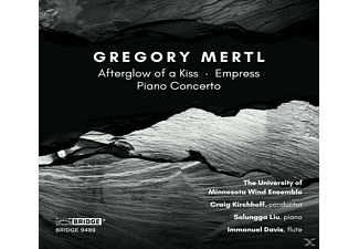 University Of Minnesota Wind Ensemble - Music Of Gregory Mertl - (CD)