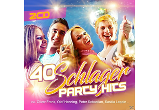 VARIOUS - 40 Schlager Party Hits - (CD)