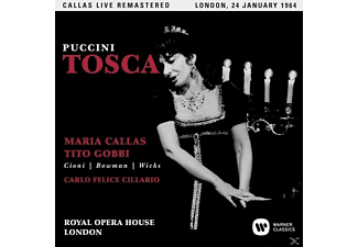 Maria Callas, Orchestra And Chorus Of The Royal Opera House, VARIOUS - Tosca (Covent Garden,live 24/01/1964) - (CD)