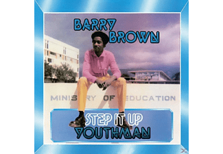 Barry Brown - Step It Up Youthman - (CD)