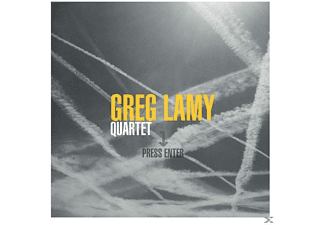 Greg Lamy Quartet - Press Enter - (CD)