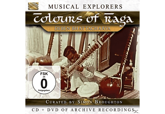 VARIOUS - Musical Explorers:Colours Of Raga - (CD + DVD Video)