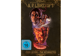 H. P. Lovecraft Movie Double Feature - From Beyond & The Resurrected - (Blu-ray)