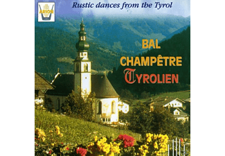 Konrad Plaickner And His Burggräfler - Bal Champetre Tyrolien - (CD)