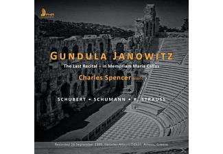 Gundula Janowitz, Charles Spencer - The Last Recital-In Memoriam Maria Callas - (CD)