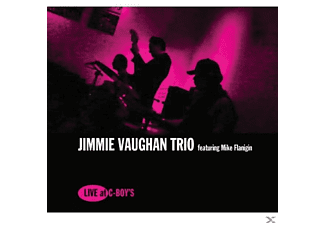 Jimmie Vaughan Trio - Live At C-Boy's - (CD)