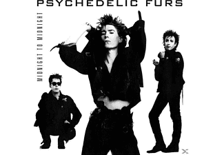 The Psychedelic Furs - MIDNIGHT TO MIDNIGHT - (CD)