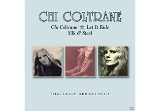 Chi Coltrane - Chi Coltrane/Let It Ride/Silk & Steel - (CD)