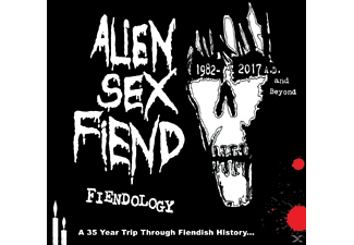 Alien Sex Fiend - Fiendology - (CD)