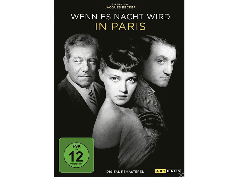 Wenn es Nacht wird in Paris (Digital Remastered) [DVD]