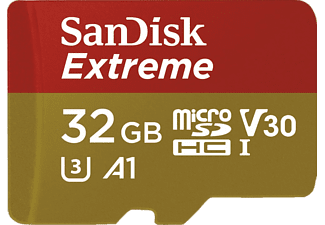 SANDISK Extreme MicroSD 32 GB 100 MB/s