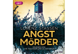 Angstmörder - 2 MP3-CD - Krimi/Thriller