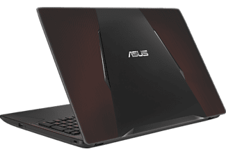 ASUS FX553VE-DM289T, Gaming Notebook mit 15.6 Zoll Display, Core™ i7 Prozessor, 16 GB RAM, 1 TB HDD, 256 GB SSD, GeForce GTX 1050 Ti, Schwarz