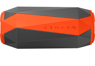 PHILIPS Enceinte portable Ètanche Gris/Orange (SB500M/00)