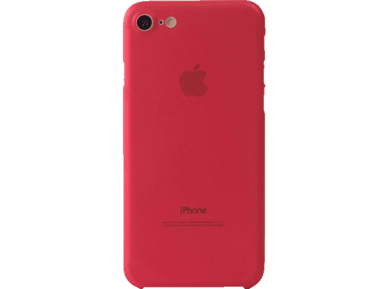 TUCANO Nuvola Backcover Apple iPhone 7/iPhone 8 Polycarbonat/Thermoplastisches Polyurethan Rot | 08020252082342