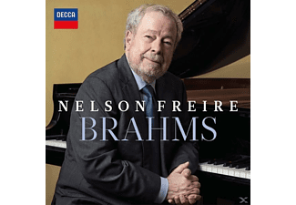 Nelson Freire - Brahms - (CD)