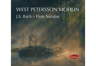 Kristine West, Stina Petersson, Marcus Mohlin - Flötensonaten - (CD)