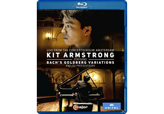 Kit Armstrong - Goldberg Variationen/+ - (Blu-ray)