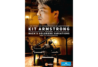 Kit Armstrong - Goldberg Variationen/+ - (DVD)