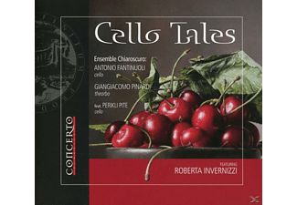 Antonio/chiaroscuro Fantinuoli - Cello Tales - (CD)