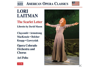 Claycomb/Armstrong/MacKenzie/Pelto/Opera Colorado - The Scarlet Letter - (CD)