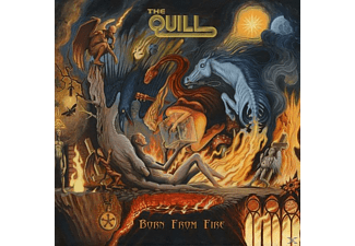 Quill - Born From Fire (Digipak) - (CD)