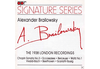 Alexander Brailowsky - The 1938 London HMV Recordings - (CD)
