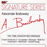 Alexander Brailowsky - The 1938 London HMV Recordings [CD]