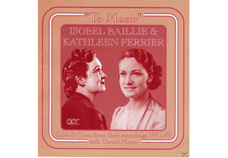 Isobel Baillie, Kathleen Ferrier - To Music - (CD)