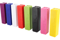 XLAYER Colour Line Powerbank 2600 mAh  Weiß