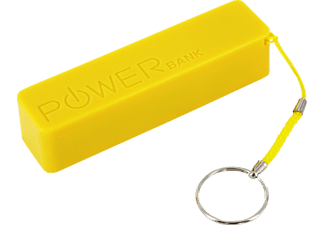 XLAYER Colour Line Yellow, Powerbank, 2600 mAh, Gelb