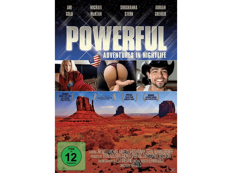 Powerful-Adventures in Nightl  [DVD]
