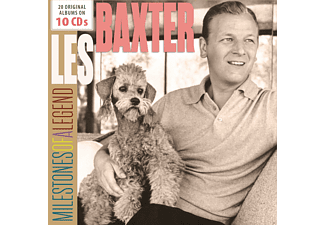 Les Baxter - Milestones of a Legend - (CD)