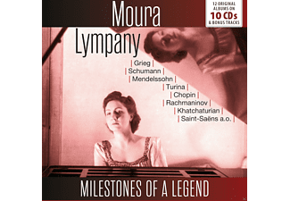 Lympany Moura - Milestones of a Legend - (CD)