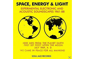 VARIOUS - Space,Energy & Light 1961-1988 - (CD)
