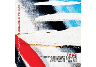 Ludovic/seattle So Morlot - Three Places in New England/Orchestral Set 2/+ - (CD)