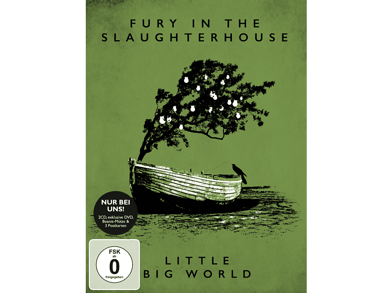 Fury In The Slaughterhouse - Little Big World (Limitierte Deluxe-Edition) [CD + DVD Video]