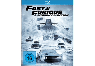 Fast & Furious - 8 Movie Collection - (Blu-ray)