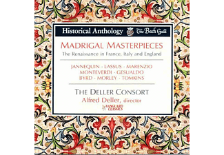 The Deller Consort - Madrigal Masterpieces - (CD)