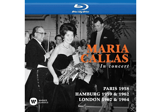 Maria Callas - Maria Callas in Concert (Paris,Hamburg,London) - (Blu-ray)