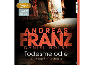 Julia Durant ermittelt 12: Todesmelodie - 1 MP3-CD - Krimi/Thriller